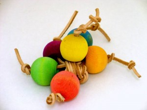 Gum Balls is a bird foot toy available from A Unique Idea.